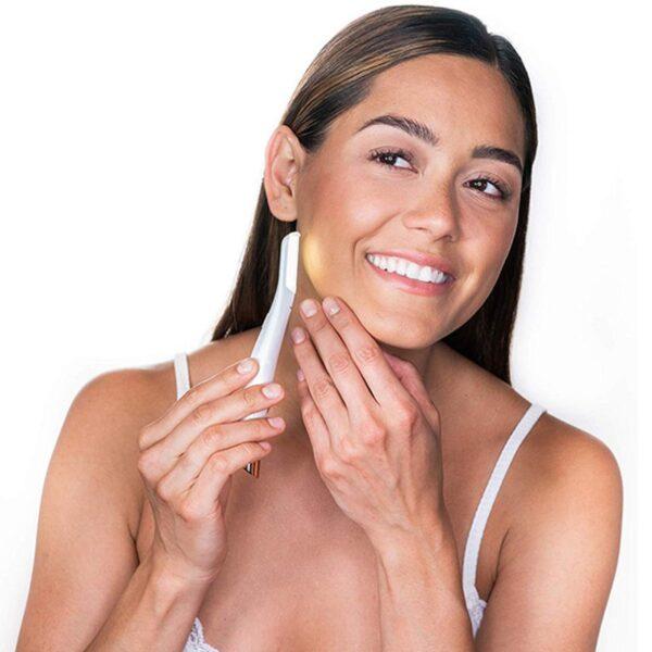 Electric Face Eyebrow Hair Remover Epilator Mini Eyebrow Shaver Razor Instant Painless Shaving Eyebrow Trimme 2