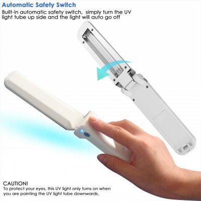 Portable UV-C Virus Sterilizer, Portable UV-C Virus Sterilizer