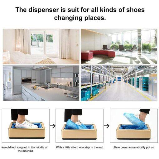 Automatic Shoe Cover Dispenser, Automatic Shoe Cover Dispenser
