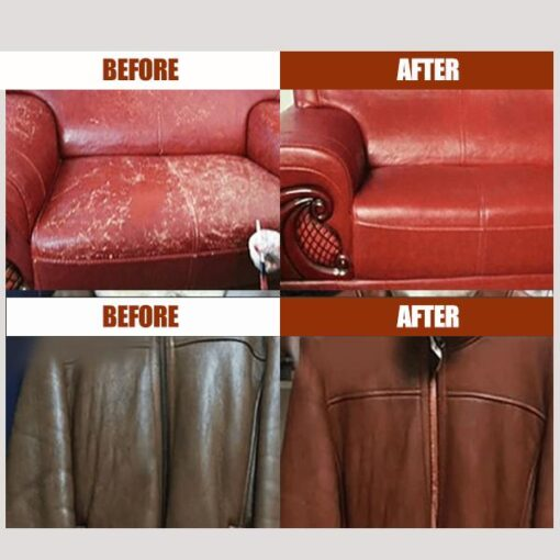 Sofa Leather Cream, Sofa nga Balat sa cream