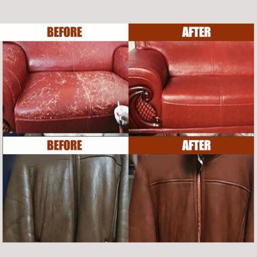 Sofa Leather Cream, Sofa Leather Cream