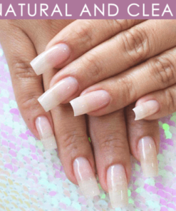 White French Nails Extension, White French Nails Extension