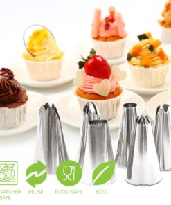 , 24 Nozzle Cake Decorating Set
