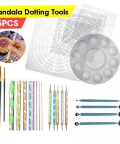 Mandala Dotting Tools Kit, Mandala Dotting Tools Kit