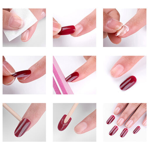 No Glue Stick-On Nail, No Glue Stick-On Nail