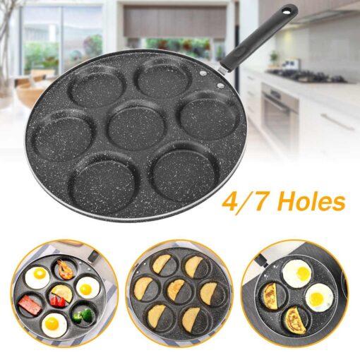 4/7 Holes Frying Pan, 4/7 Holes Frying Pan
