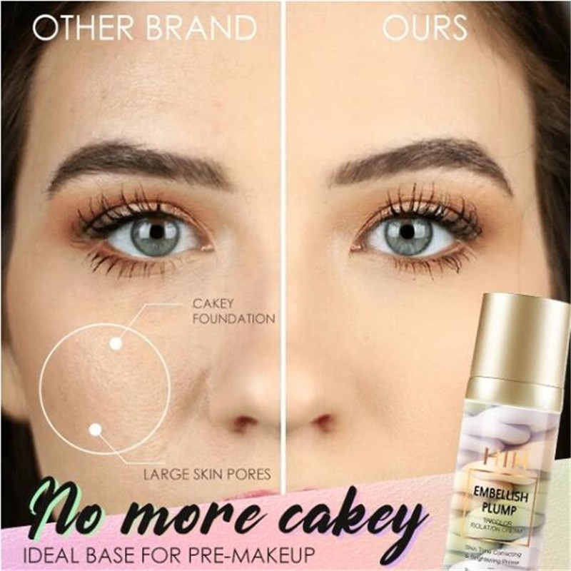 Tricolor Makeup Base - Not sold in stores