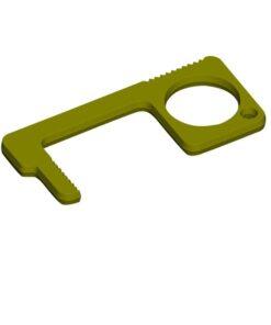 ZeroTouch Brass Door Opener, ZeroTouch Brass Door Opener And Stylus