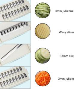 8 in 1 Vegetable Slicer, 8 in 1 Vegetable Slicer