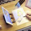 Optička ploča za crtanje slike