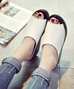 Simple Comfy Wedge Sandals, Simple Comfy Wedge Sandals