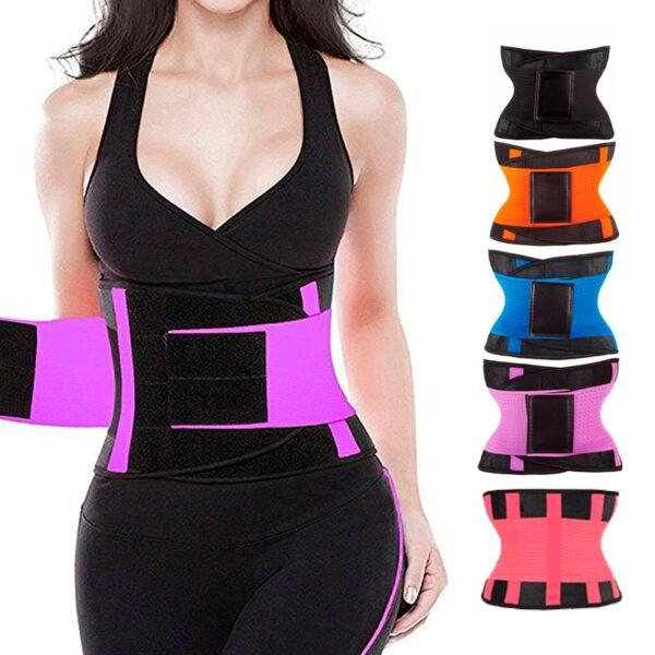 女士腰部训练器紧身塑身裤塑身腰带塑身腰带塑身塑身腰带氯丁橡胶 1