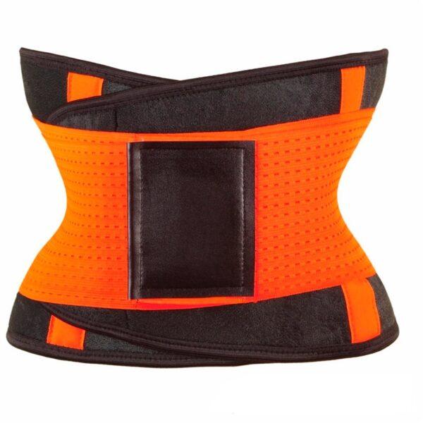 女士腰部训练器紧身塑身裤塑身腰带塑身腰带塑身塑身腰带氯丁橡胶 4