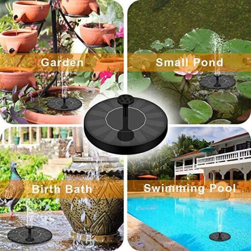 Solar Powered Bionic Fountain, Solar Powered Bionic Fountain