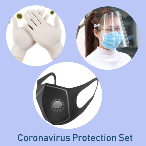 ochranná sada, Coronavirus Protection Set