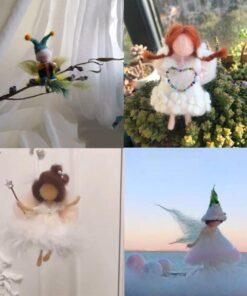 Fairy Needle Felting Kit, Fairy Needle Felting Kit
