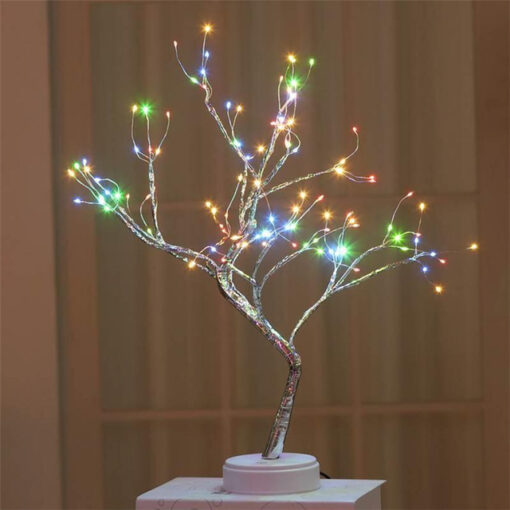 Led Copper Wire Tree, Led Copper Wire Tree