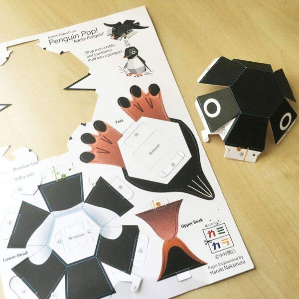DIY Paper Scrapbook Decoration Paper Haruki Nakamura Paper Toys Animal Origami Kirigami Folding Discover Adorable toys 3
