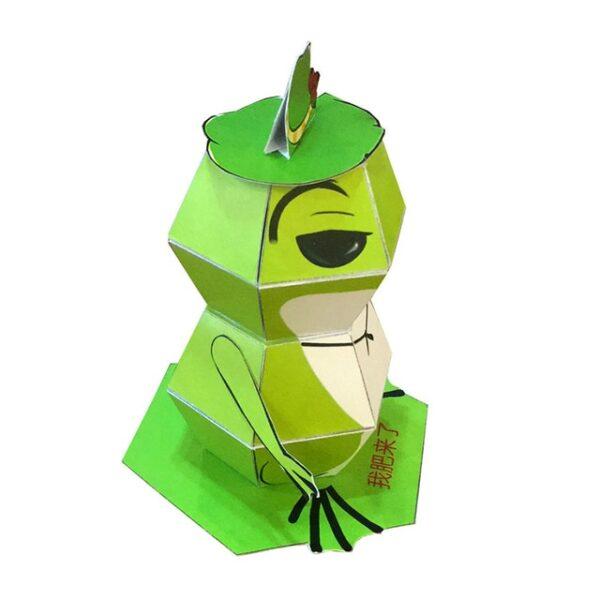 DIY Paper Scrapbook Decoration Paper Haruki Nakamura Paper Toys Animal Origami Kirigami Folding Discover Adorable toys 4.jpg 640x640 4