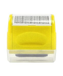 Identity Theft Protection Roller Stamp, Identity Theft Protection Roller Stamp
