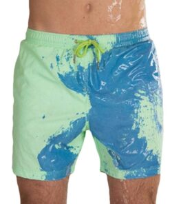 Color-changing Beach Shorts, Color-changing Beach Shorts