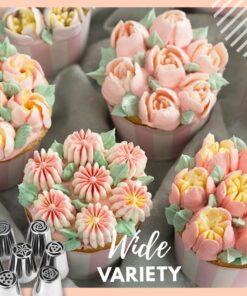 Cake Decor Piping Tips, Cake Decor Piping Tips