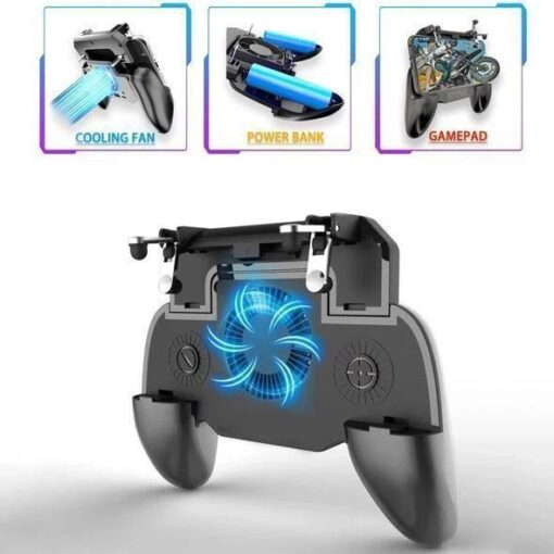 Mobile Gamepad with powerbank, Mobile Gamepad with powerbank
