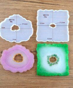 Crystal Resin Coaster, Crystal Resin Coaster