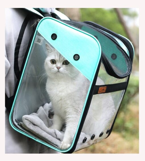 Transparent Visible Pet Backpack, Transparent Visible Pet Backpack