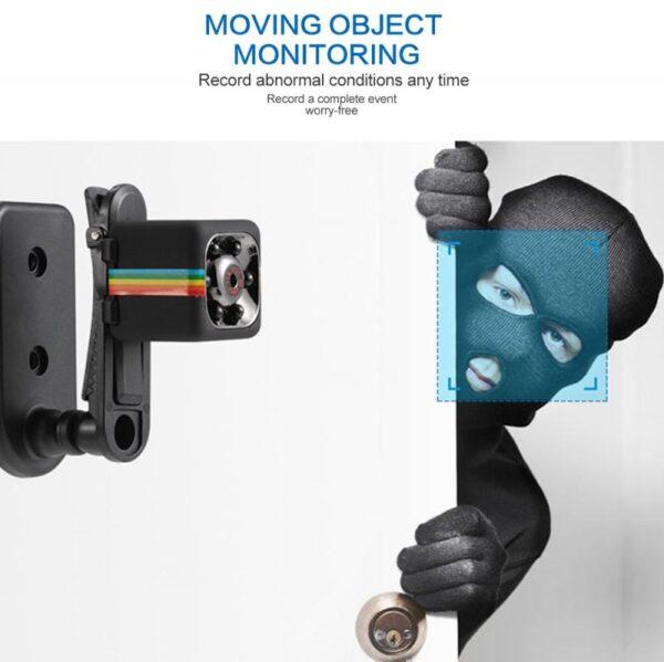 Sq11 Mini Camera Cam Sensor ກາງຄືນພາບກ້ອງວົງຈອນປິດເຄື່ອງບັນທຶກພາບເຄື່ອນໄຫວ DVR Micro Camera Sport DV ວີດີໂອ 2