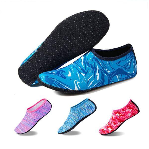 Women Men Beach Shoes Water Sports Footwear Swimming Pool Aqua Bathing Diving Shoes Sock Wet Sea