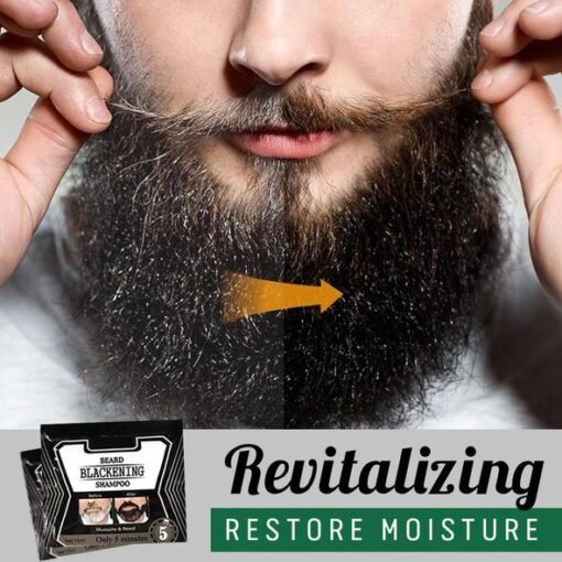 Beard Blackening Shampoo, Beard Blackening Shampoo