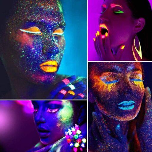 Mga Palette sa Glow Glesh, Glow Eyeshadow Palette
