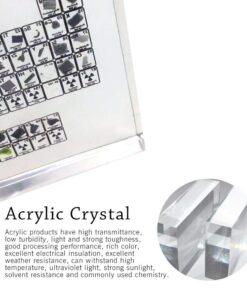 Mga Kwentro nga Kadaghan sa Acrylic, lamesa sa Yugto sa Acrylic