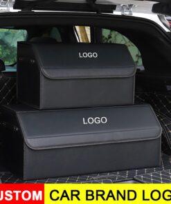 Ang LOGO Trunk Organizer Box sa Car, ang LOGO Trunk Organizer Box sa Car