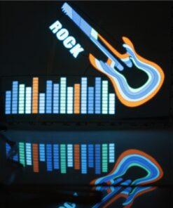 Ang Car Neon Rhythm Flash Lamp Sticker, ang Car Neon Rhythm Flash Lamp Sticker