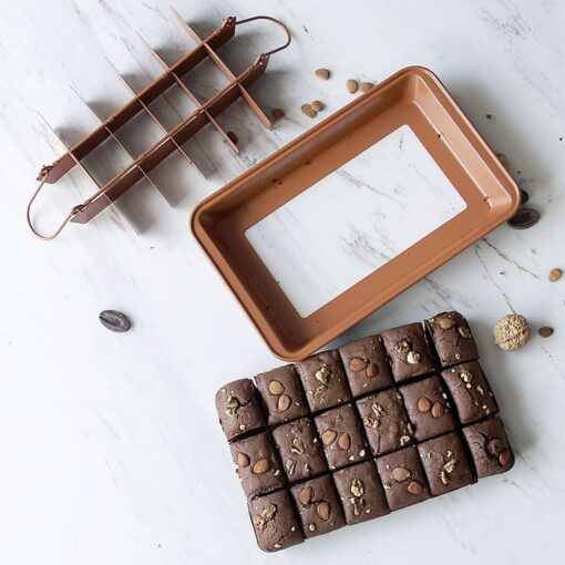 Mga Non Stick Brownie Pans, Non Stick Brownie Pans