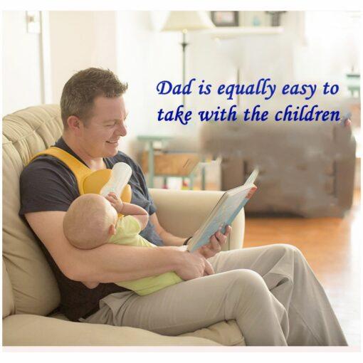 Holder Free Baby Bottle Holder, Hand-Free nga Baby Bottle Holder