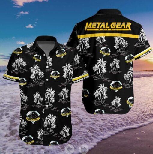 Printed Hawaiian Shirt, Printed Hawaiian Shirt