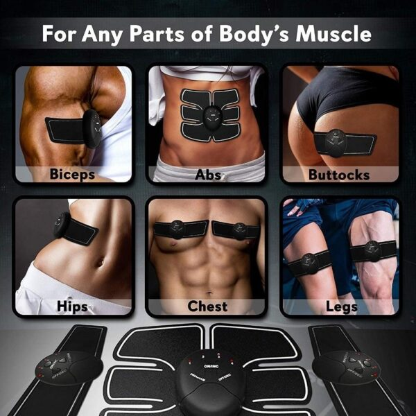 EMS Hip Muscle Stimulator Fitness Lifting Buttock Abdominal Trainer Weight loss Body Slimming Massage Dropshipping New 4