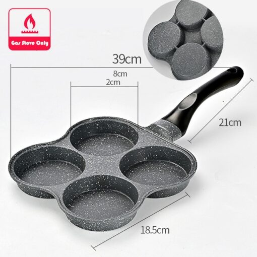 4 Hole Fried, 4 Hole Fry Egg Burger Pan
