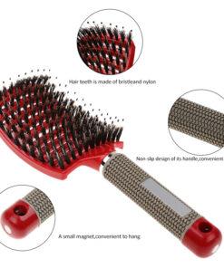 Ang Detangling Nylon Bristle Brush, Detangling Nylon Bristle Brush