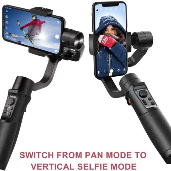 Hohem Smartphone Gimbal 3 Axis Handheld Stabilizer for iPhone11Pro Max for Android Smartphones Samsung S10 iSteady 1 1
