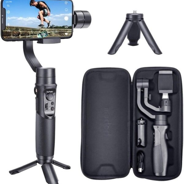Hohem Smartphone Gimbal 3 Axis Handheld Stabilizer for iPhone11Pro Max for Android Smartphones Samsung S10 iSteady.jpg 640x640