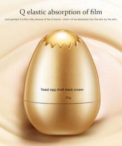 Egg Shell Yeast Mask Cream, Egg Shell Yeast Mask Cream