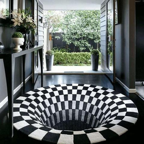 Vortex Illusion Rug, Vortex Illusion Rug