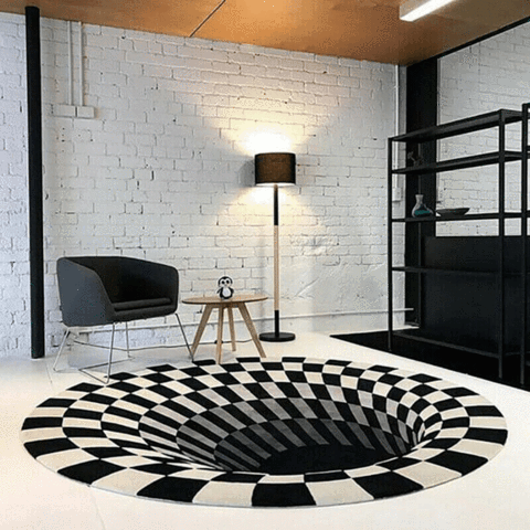 Rug Vortex Illusion, Rug Vortex Illusion