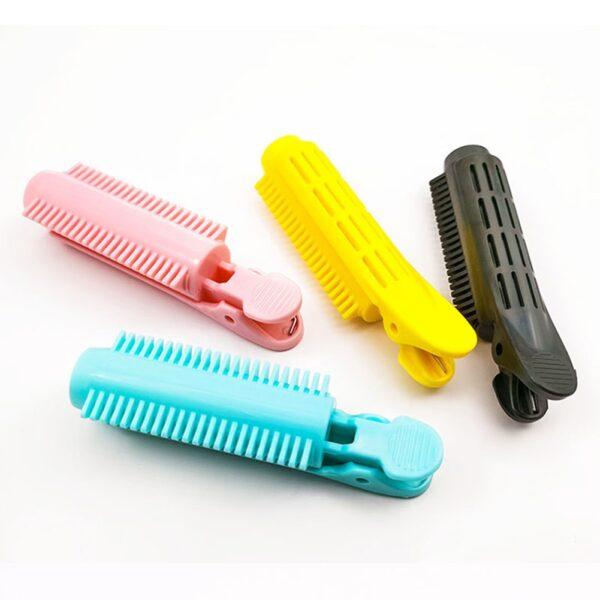 3τμχ Κλιπ Μαλλιών Ράφες Ρίζες Perm Ράβδοι Styling Rollers Ρίζα Μαλλιών Fluffy Bangs Styling Μαλλιών 3