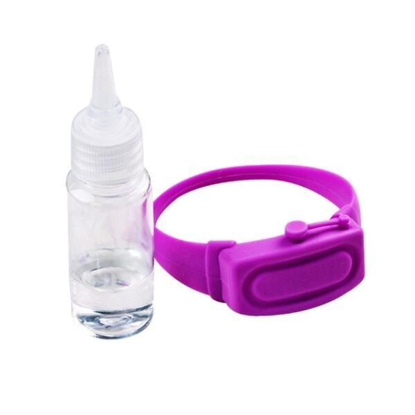 4PC Wristband Hand Dispenser Hand Sanitizer Dispensing Silica gel Wearable Dispenser Pumps Disinfecta Wristbands Hand Band 5.jpg 640x640 5