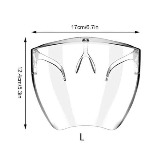 Transparante beskermjende bril, Transparante beskermjende bril